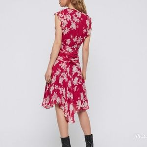 All Saints Dresses - AllSaints Caris Lea Dress Hot Pink